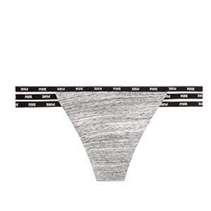 New Victoria's Secret PINK Mini Strappy Logo Thong